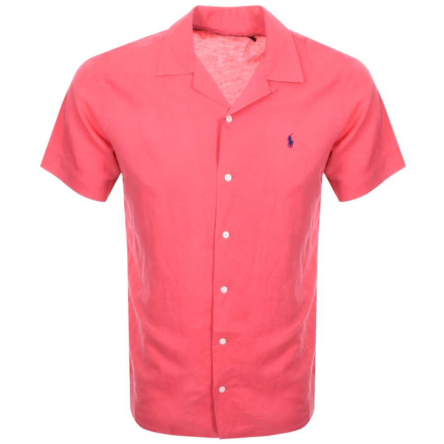 3a75ce7305b Product Image for Ralph Lauren Short Sleeve Shirt Red