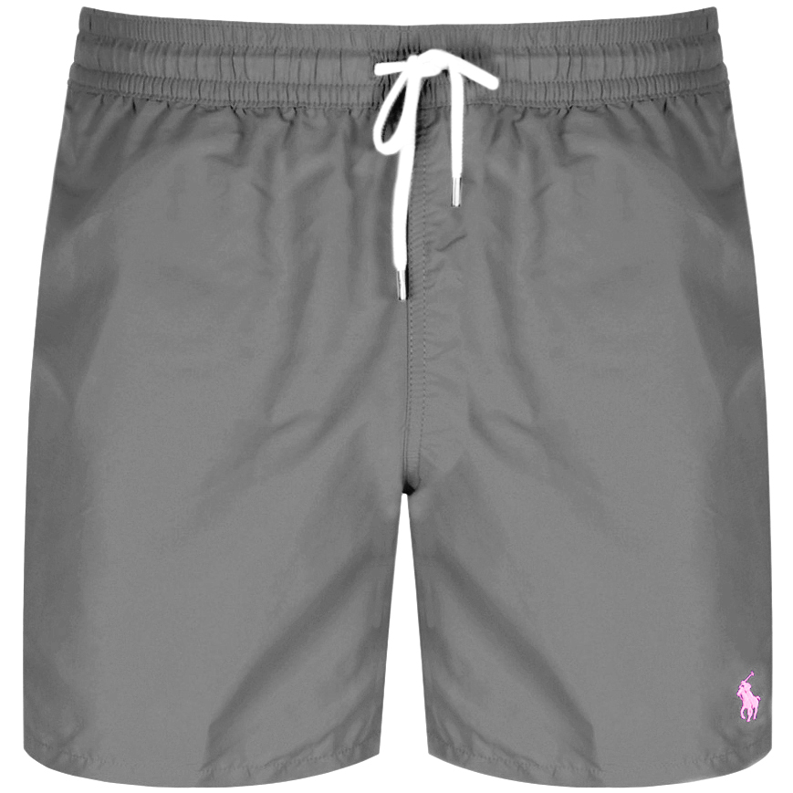 58481d433c Ralph Lauren Traveller Swim Shorts Grey | Mainline Menswear