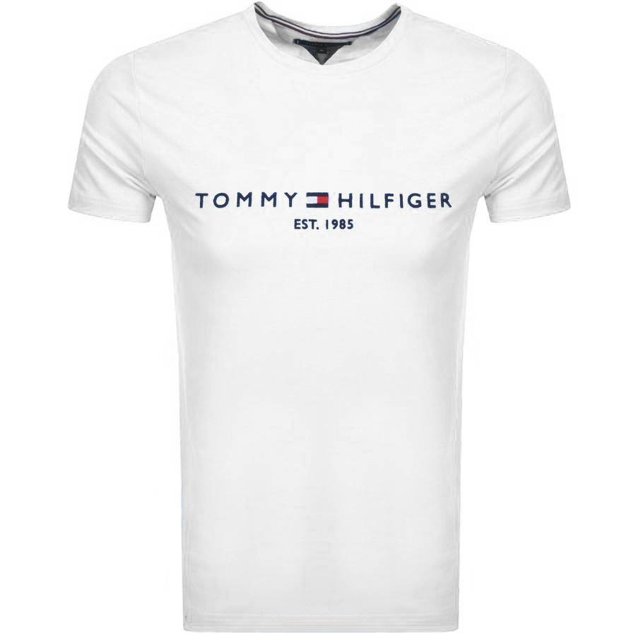 8a7133677dec Product Image for Tommy Hilfiger Logo T Shirt White