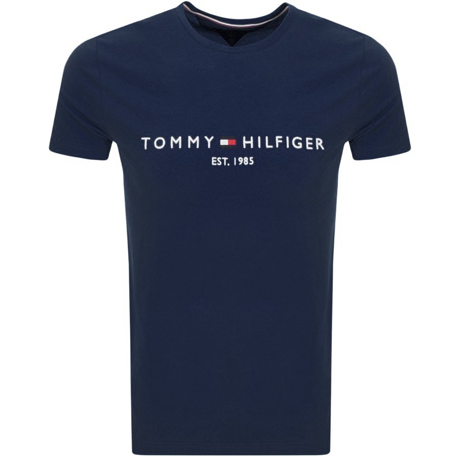 1b8280280 Product Image for Tommy Hilfiger Logo T Shirt Navy
