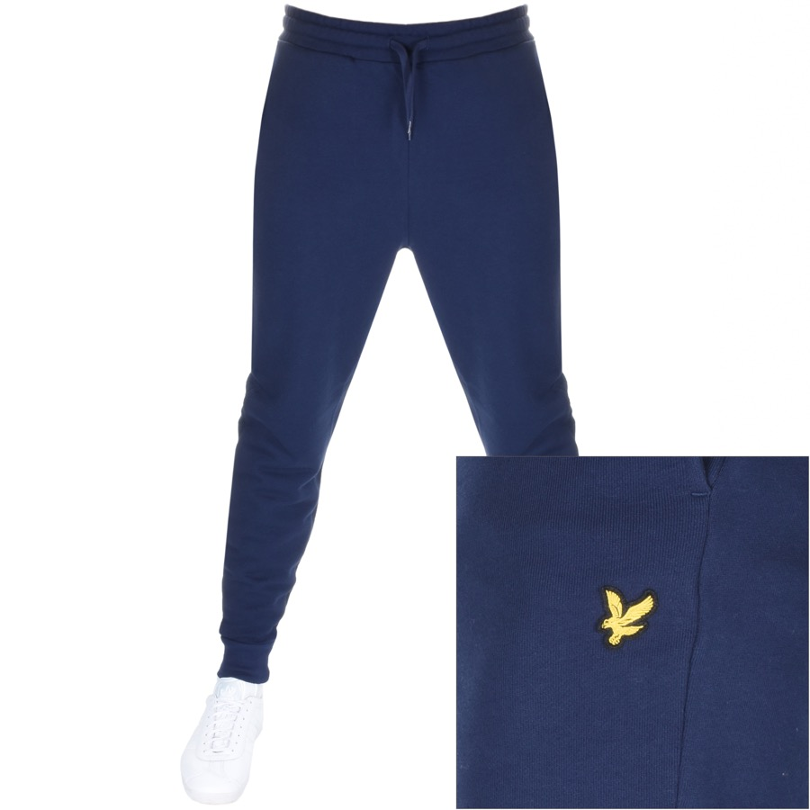 70998c2b Product Image for Lyle And Scott Slim Jogging Bottoms Navy
