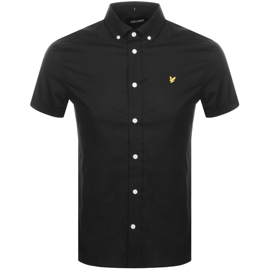 194d8c8ee Product Image for Lyle And Scott Short Sleeved Poplin Shirt Black
