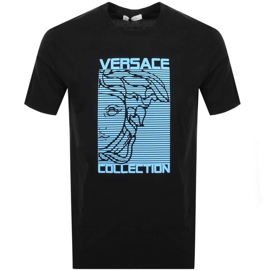 cea159dd Product Image for Versace Collection Medusa Logo T Shirt Black