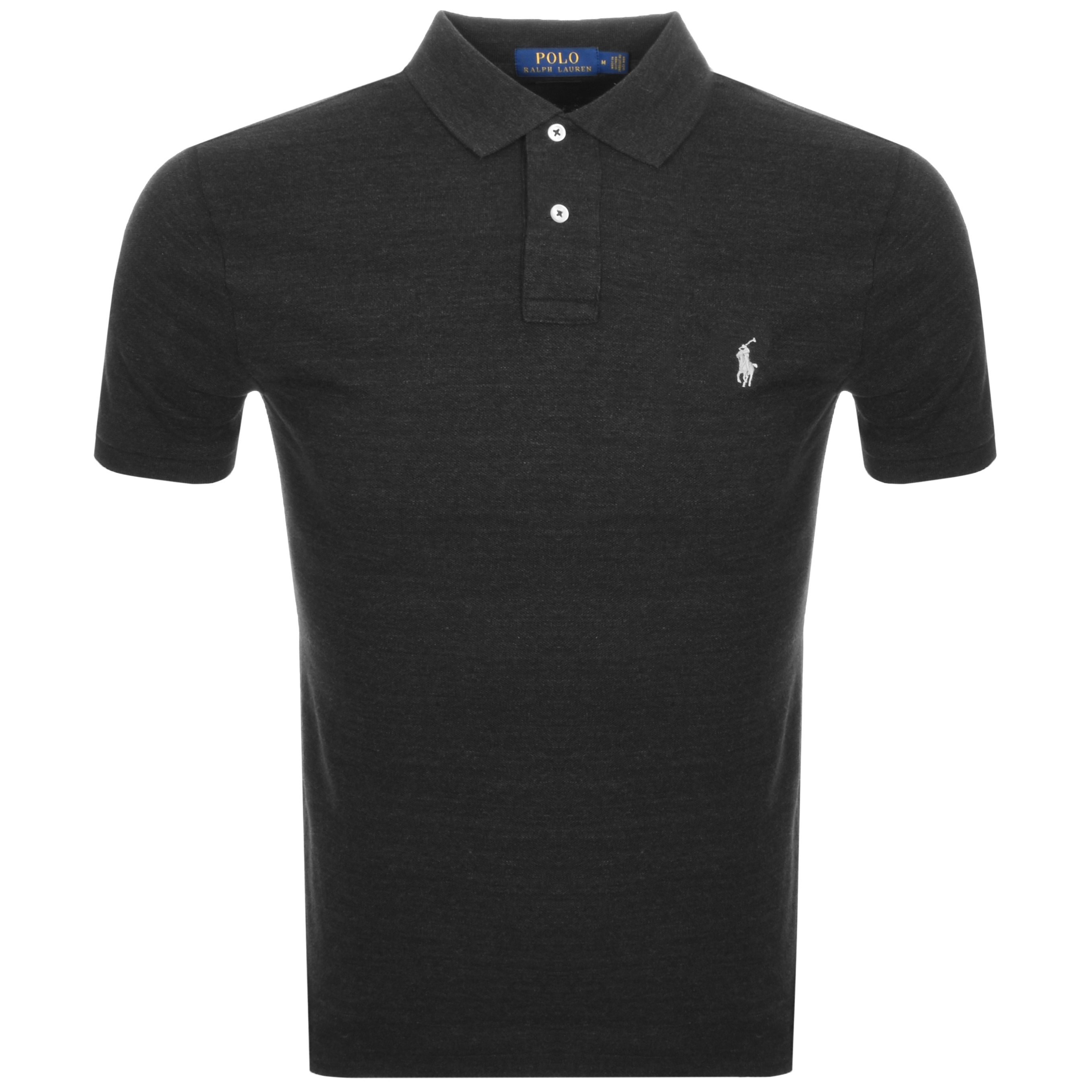 Ralph Lauren Slim Fit Polo T Shirt Black