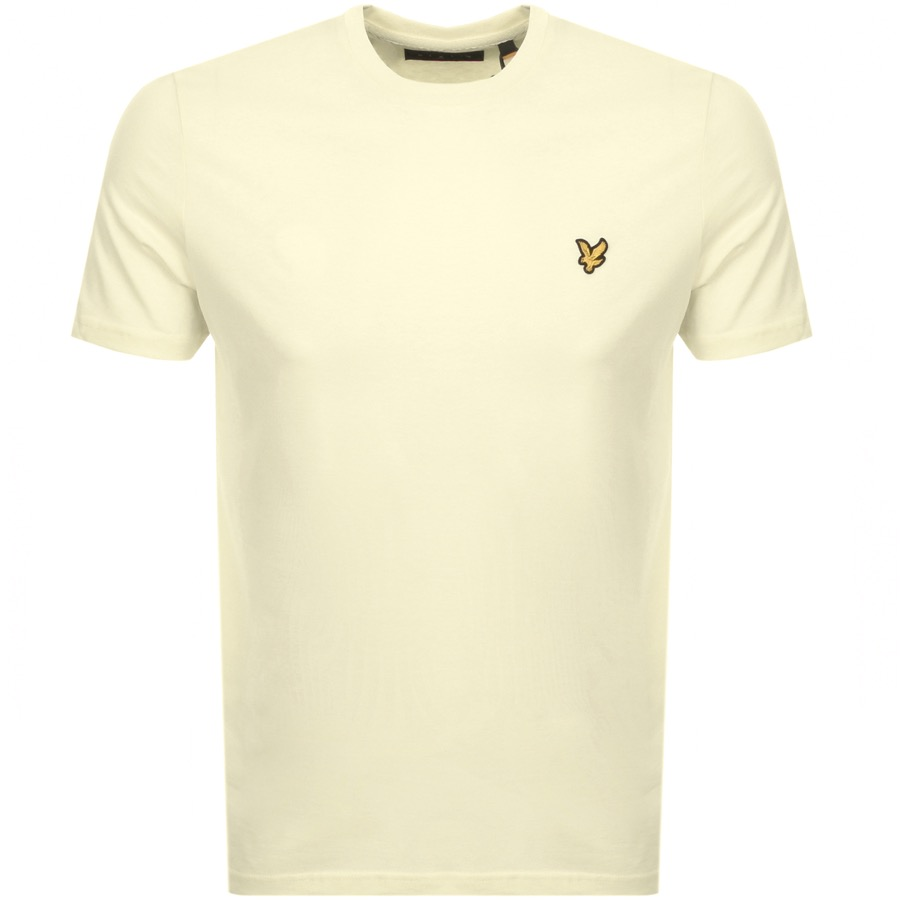 Lyle And Scott Crew Neck T Shirt Yellow