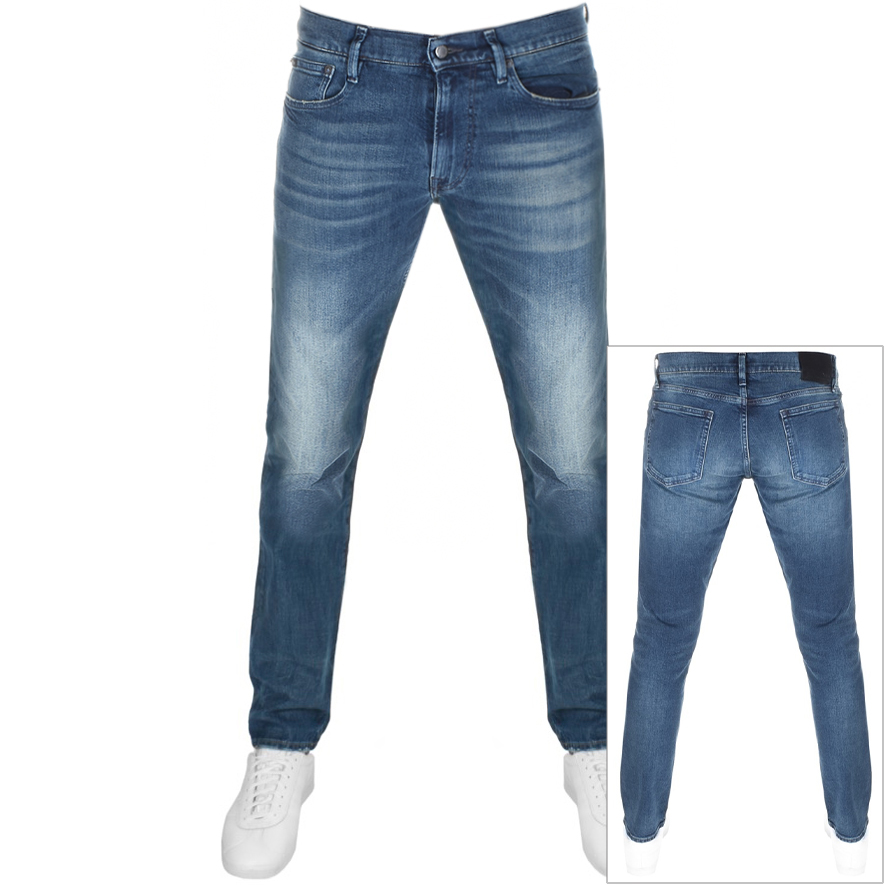 Ralph Lauren Sullivan Slim Stretch Jeans Blue