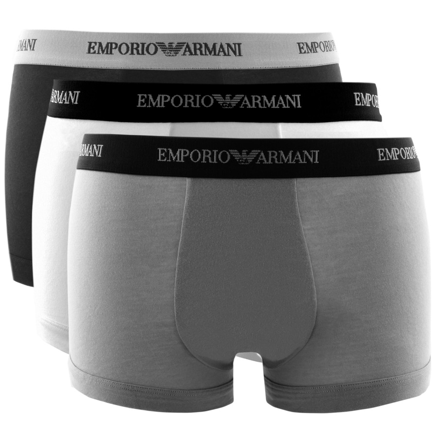 89c44c7df673 Product Image for Emporio Armani Underwear 3 Pack Trunks