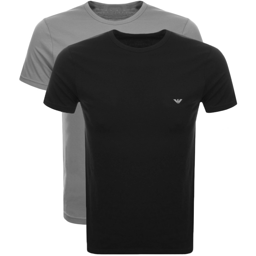 78998eca461 Product Image for Emporio Armani 2 Pack Crew Neck T Shirts