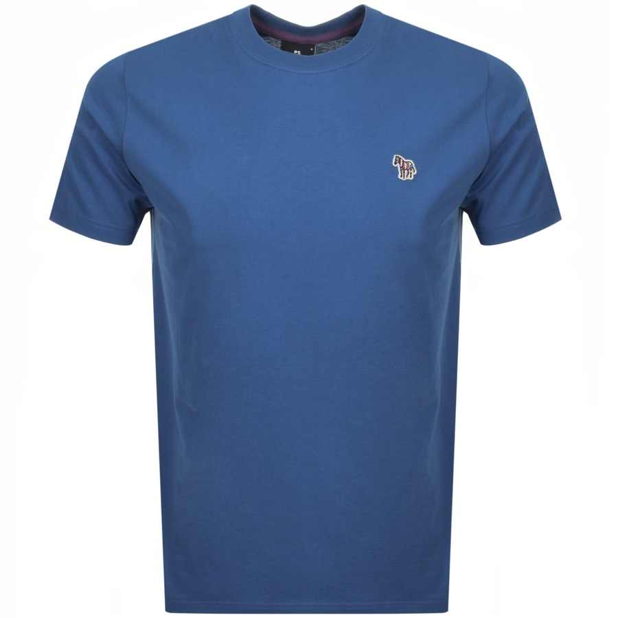 74bb7cbb085e Free Delivery. Return. Product Image for PS By Paul Smith Regular Fit T  Shirt Blue