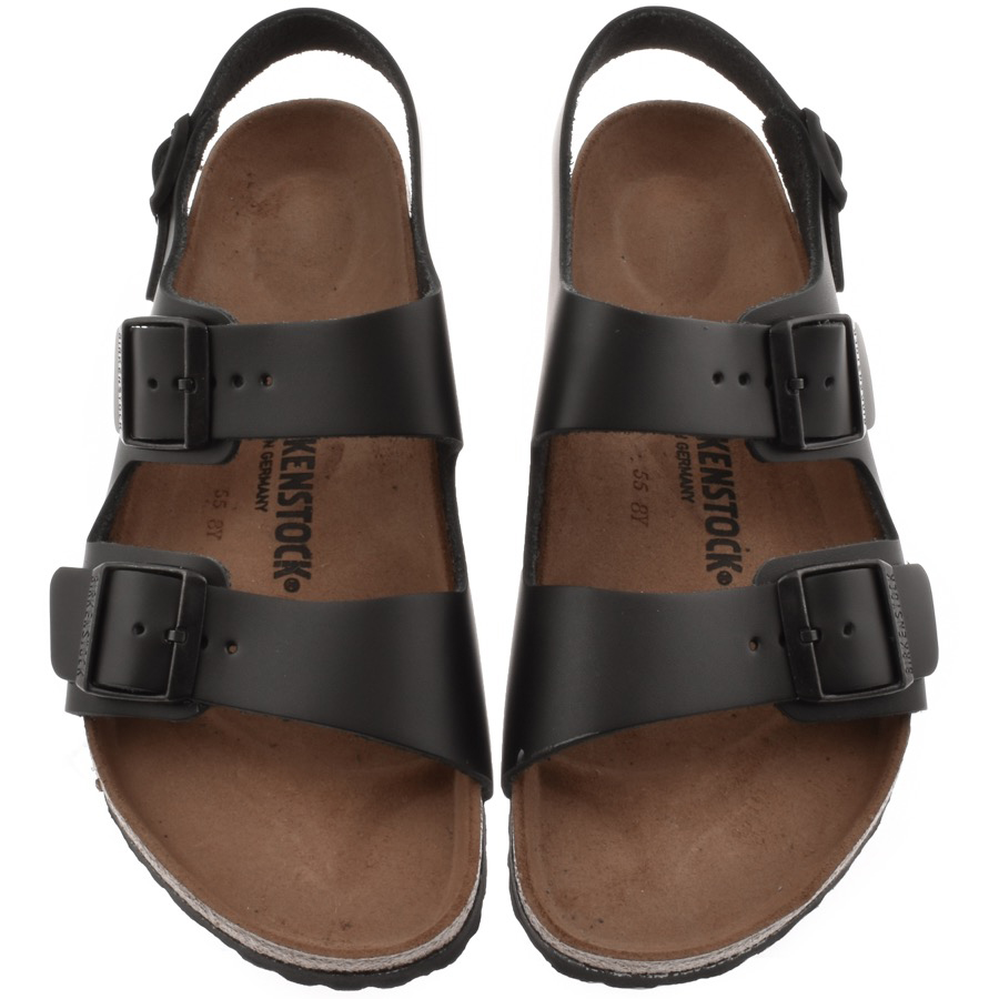 Main Product Image for Birkenstock Milano Leather Sandals Black
