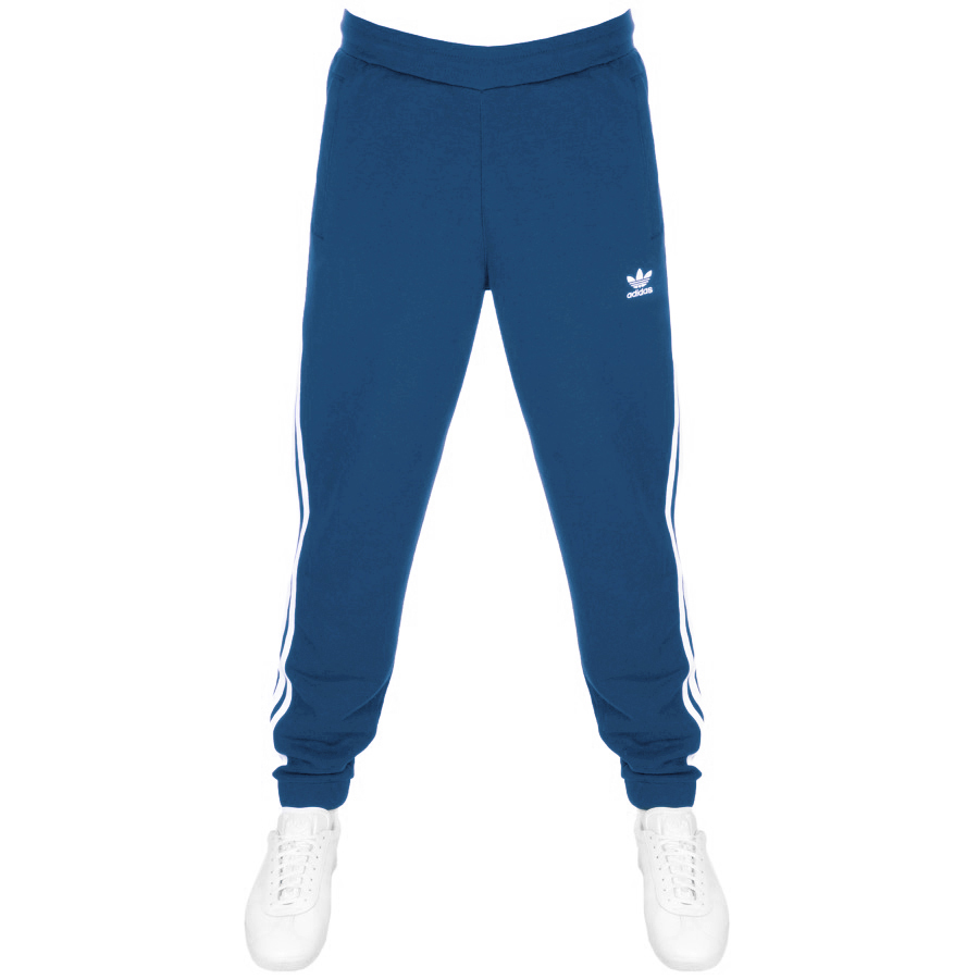 the best attitude 4c6b3 12128 Product Image for adidas Originals 3 Stripes Joggers Blue