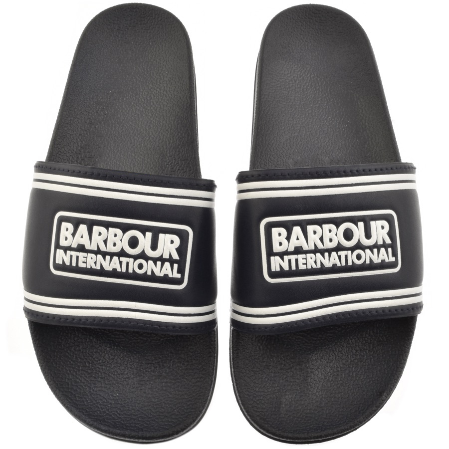 Main Product Image for Barbour International Pool Sliders Navy