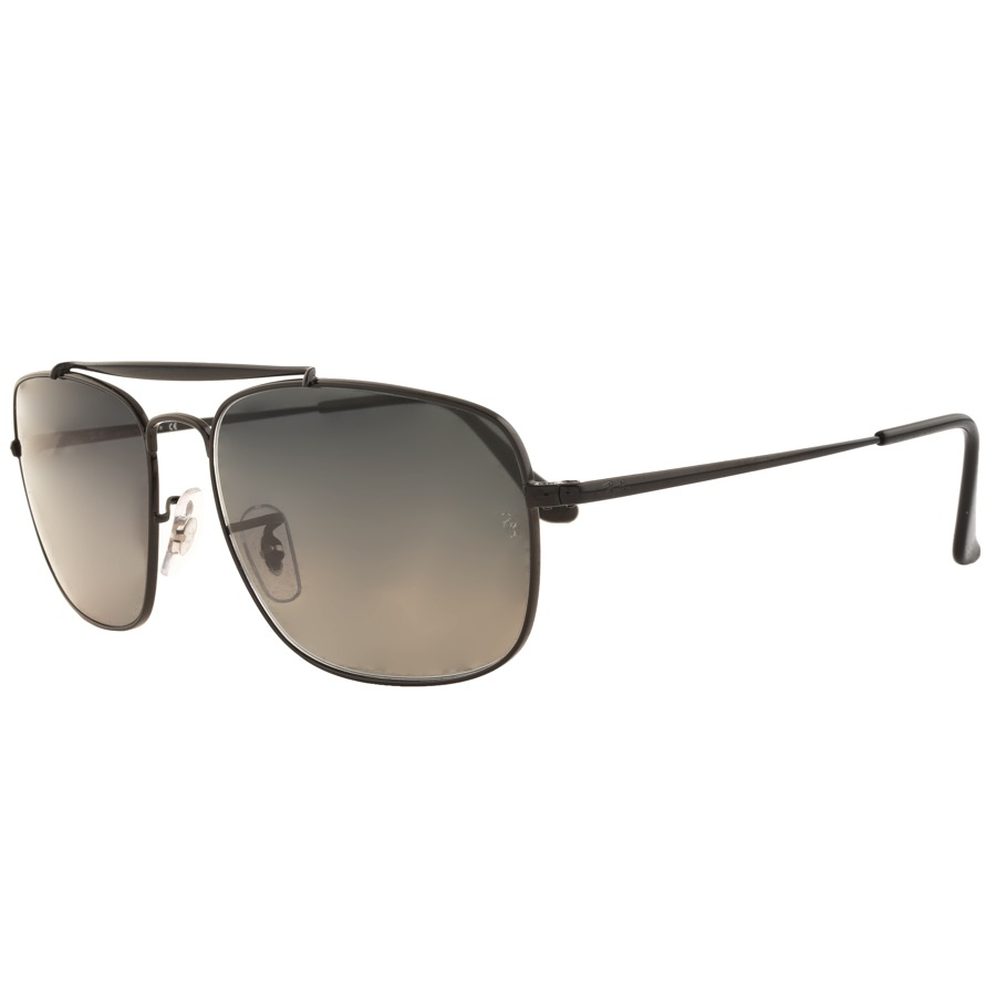 Ray Ban 3560 Aviator Sunglasses Black