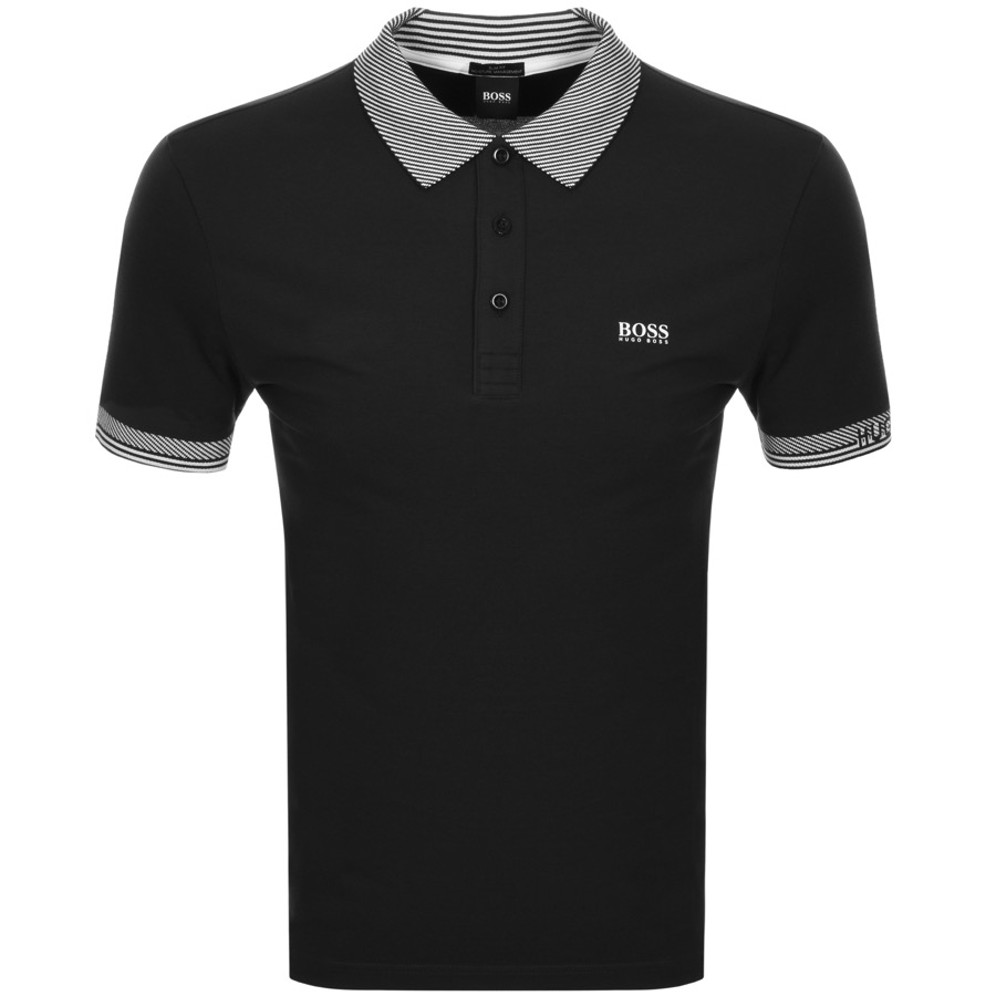 25105f31df6f Product Image for BOSS Athleisure Paule Polo T Shirt Black