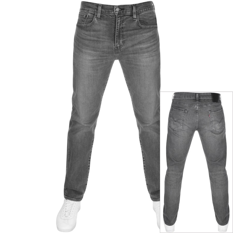 Levis 502 Regular Tapered Jeans Grey