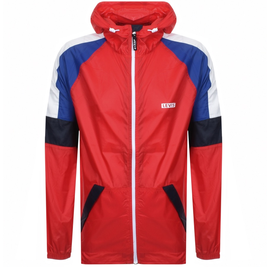 ea5957765b11 Product Image for Levis Windbreaker Jacket Red