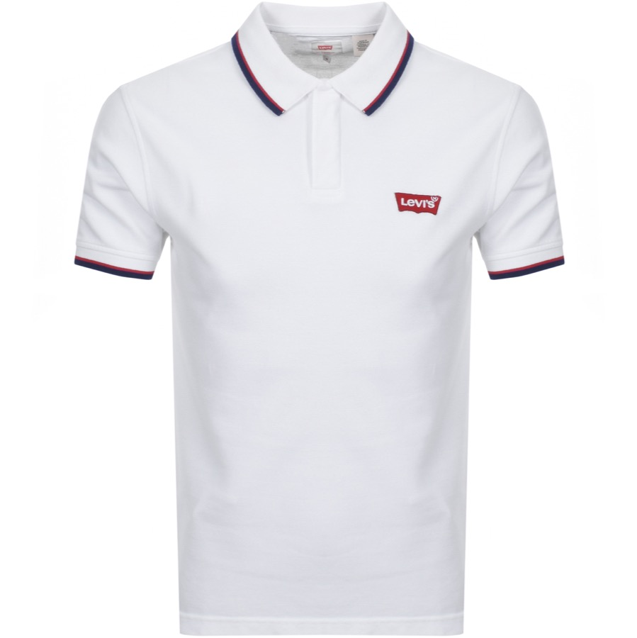 2340e898 Levis Original Modern Polo T Shirt White | Mainline Menswear
