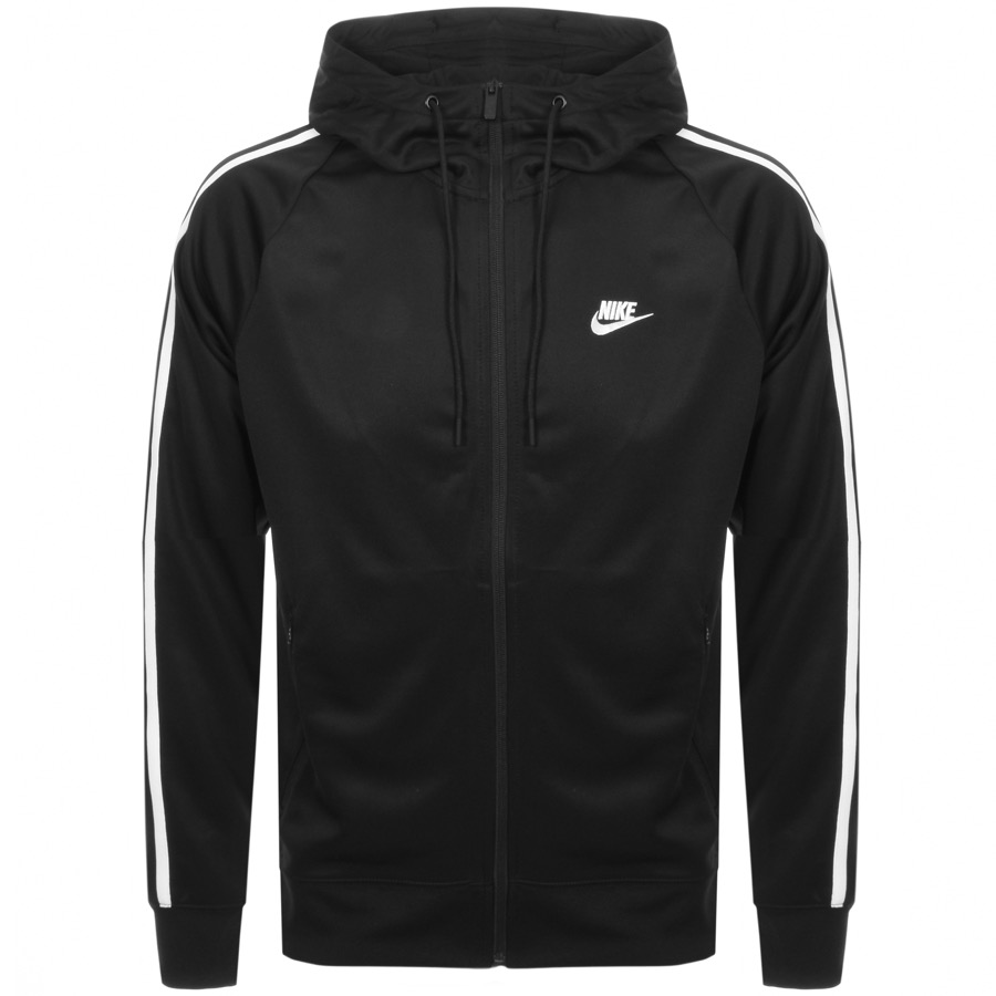 68208f4f2809 Product Image for Nike Tribute Hooded Track Sweatshirt Black