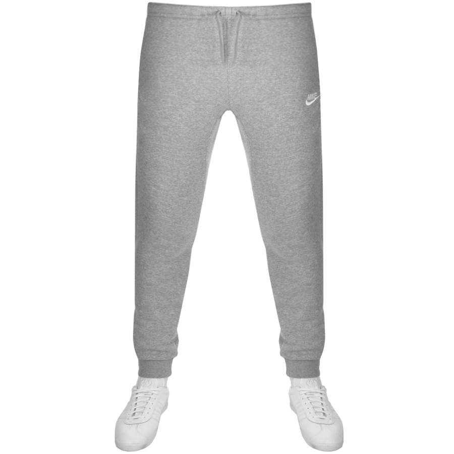 Nike Club Tapered Fit Jogging Bottoms Grey