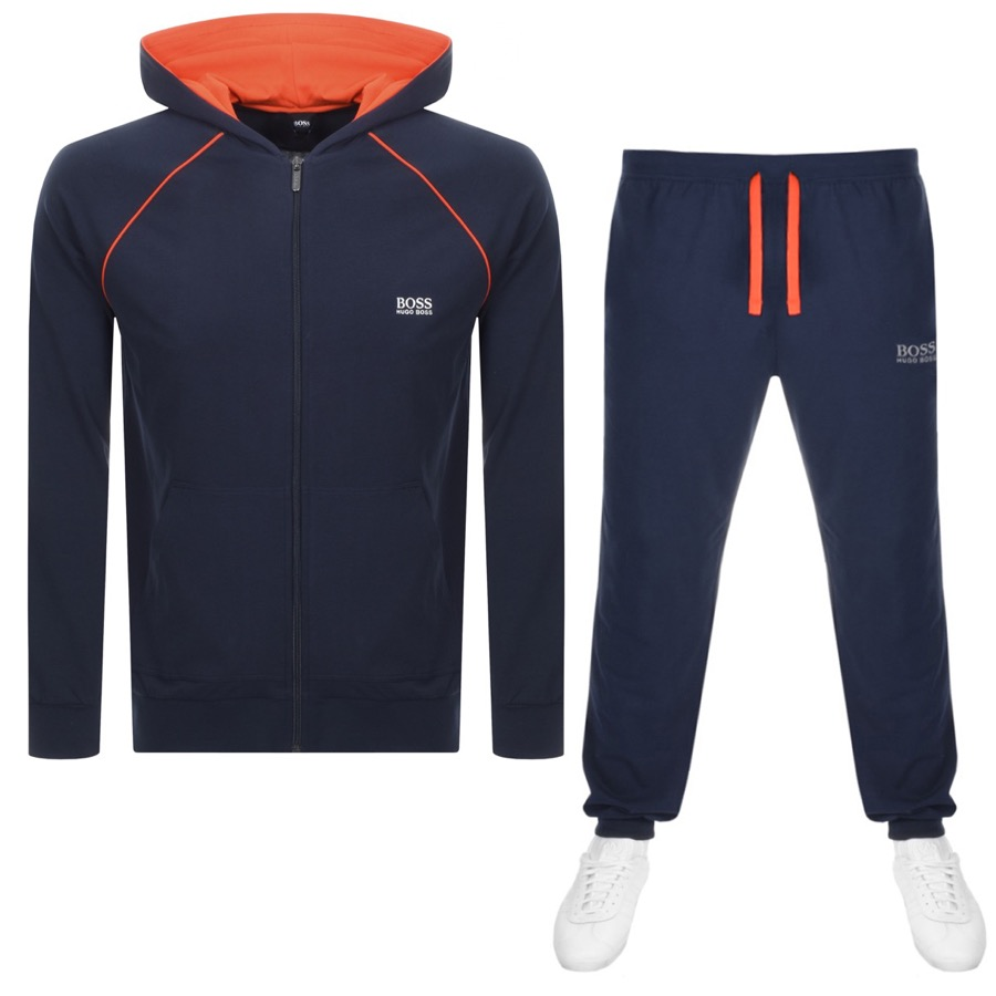 4865b38ccc21 Product Image for BOSS HUGO BOSS Lounge Tracksuit Navy