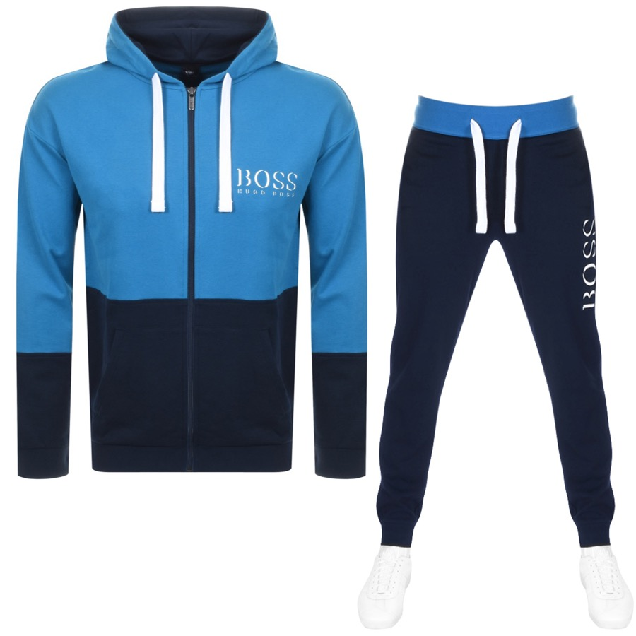 267f2952 Alternative Image for ProductBOSS HUGO BOSS Lounge Tracksuit Navy1 ...