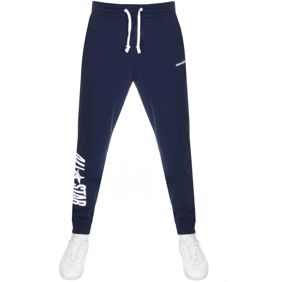 9381a8d04ac5 Product Image for Converse All Star Logo Jogging Bottoms Navy