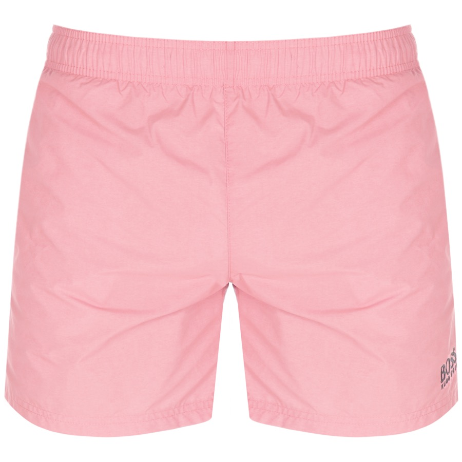 838c99cb Alternative Image for ProductBOSS HUGO BOSS Perch Swim Shorts Pink1 ...