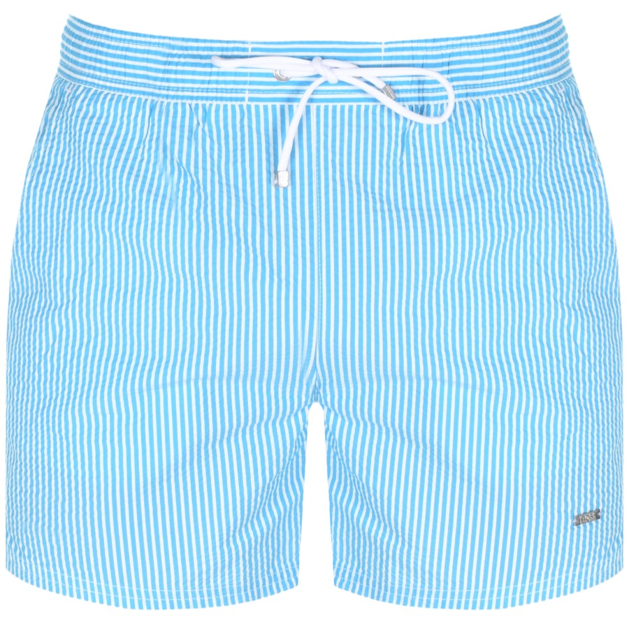 BOSS HUGO BOSS Velvetfish Swim Shorts Blue