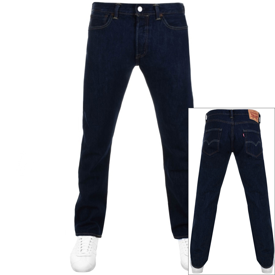 Levis 501 Original Fit Jeans Blue