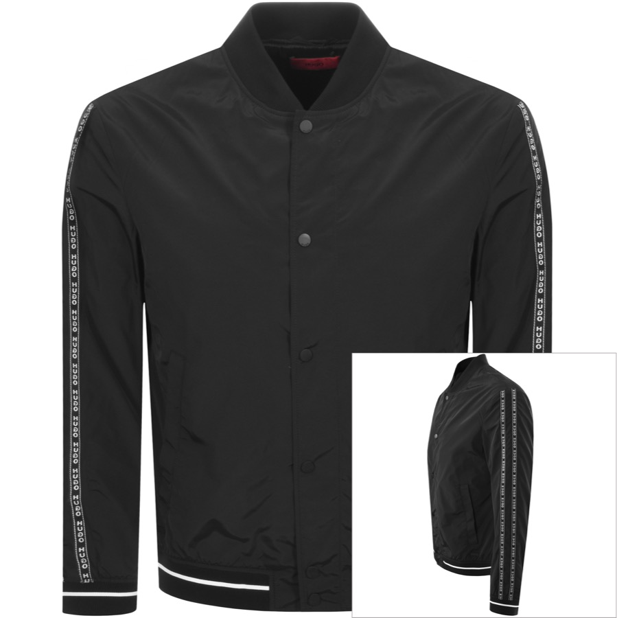 4b5a2200e HUGO Boris Jacket Black | Mainline Menswear