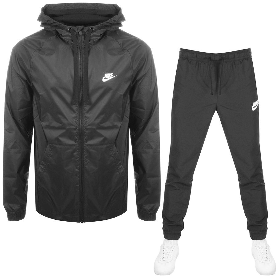 Main Product Image for Nike Hooded Tracksuit Grey