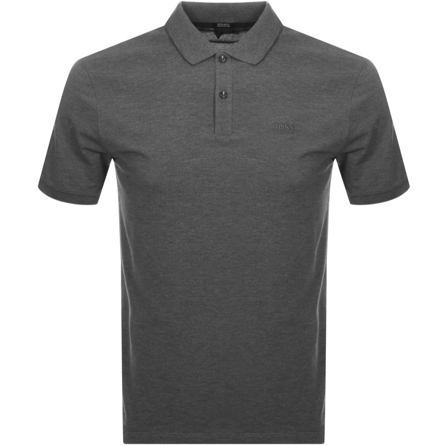 27c6a15a9c6 Product Image for BOSS HUGO BOSS Pallas Polo T Shirt Grey
