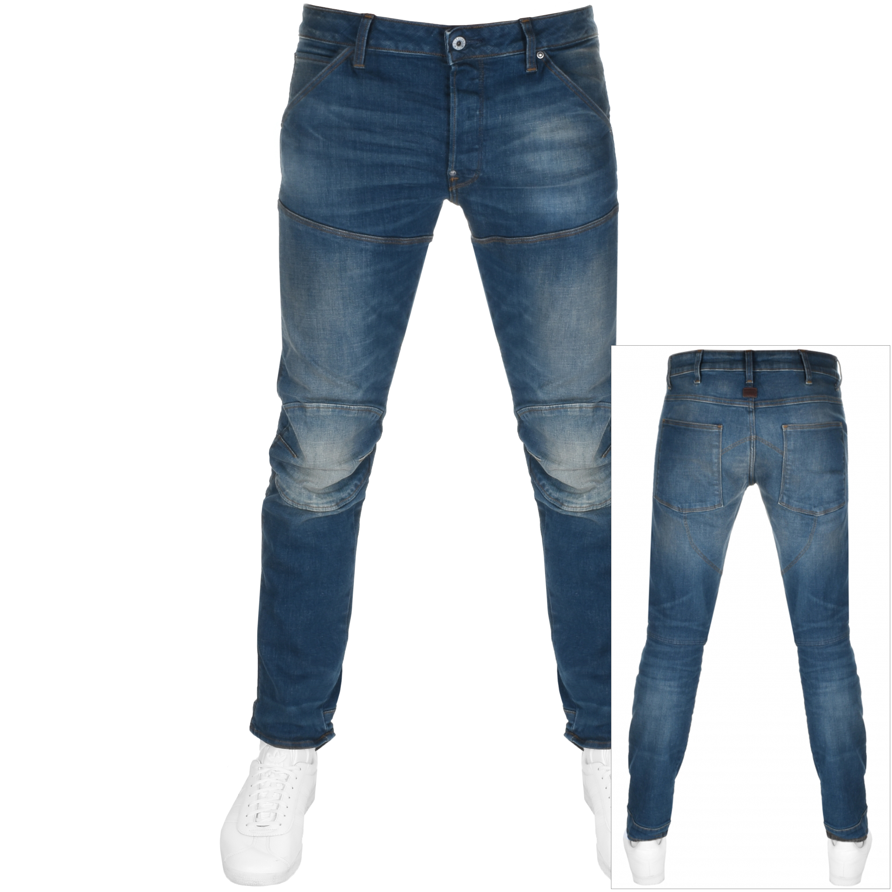 2f084997 Product Image for G Star Raw 5620 Elwood 3D Slim Jeans Blue