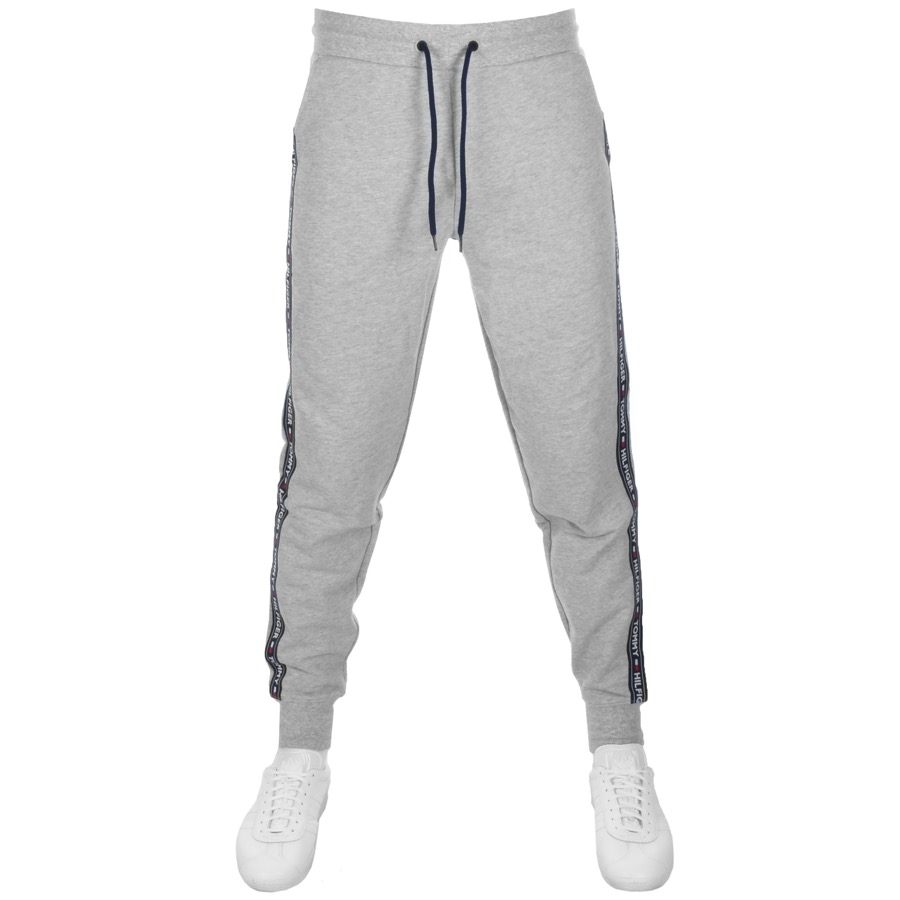 06a0587f5950 Product Image for Tommy Hilfiger Logo Jogging Bottoms Grey