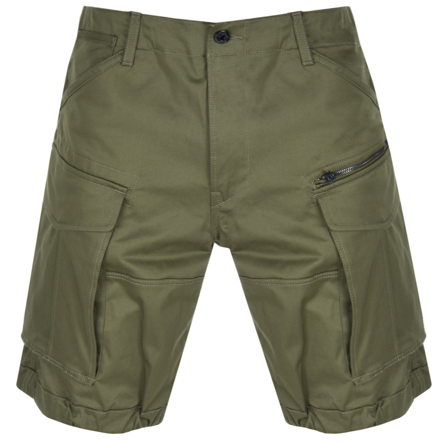 G Star Raw Rovic Loose Shorts Green