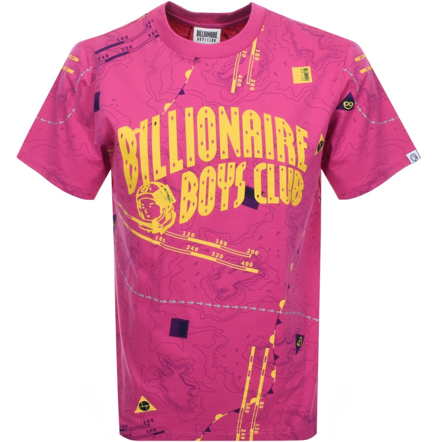 Main Product Image for Billionaire Boys Club Nautical Logo T Shirt Pink