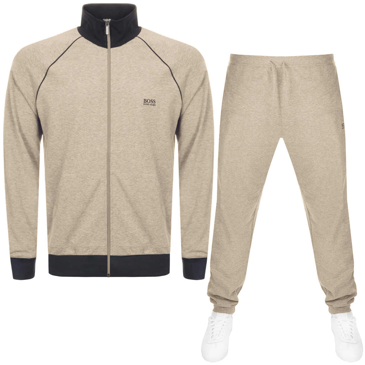 479818e1 Clothing, Shoes & Accessories NEW HUGO BOSS MENS BLUE SPORTS JUMPER  TRACKSUIT COAT JACKET TRACK SUIT ...