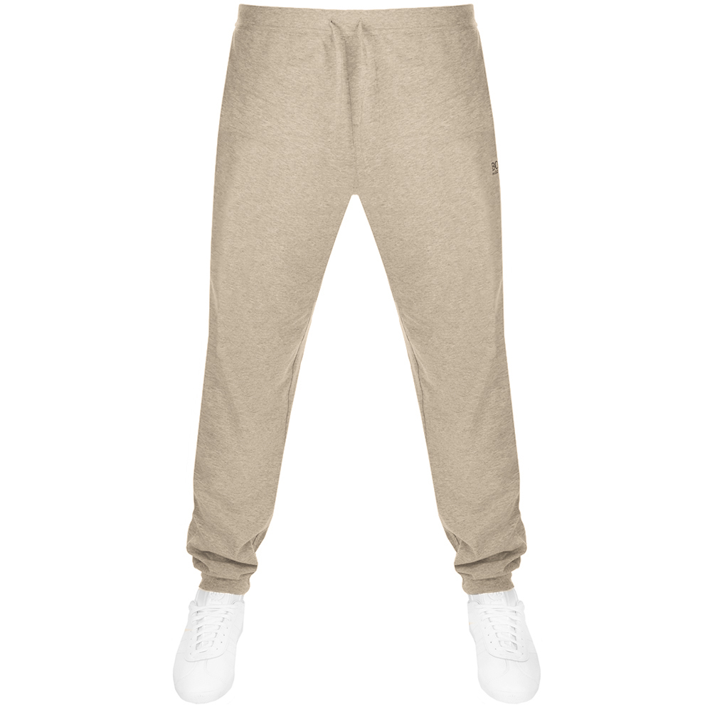 a52536b2a225 Product Image for BOSS HUGO BOSS Jogging Bottoms Beige Marl