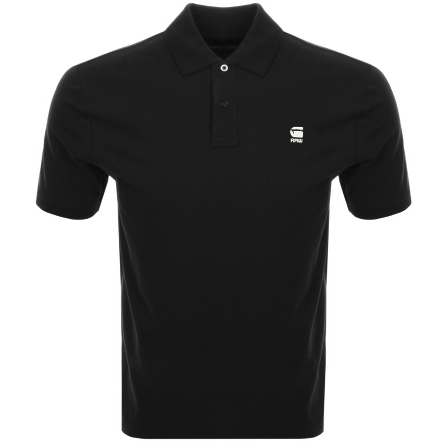 812b901ab1 Product Image for G Star Raw Dunda Polo T Shirt Black