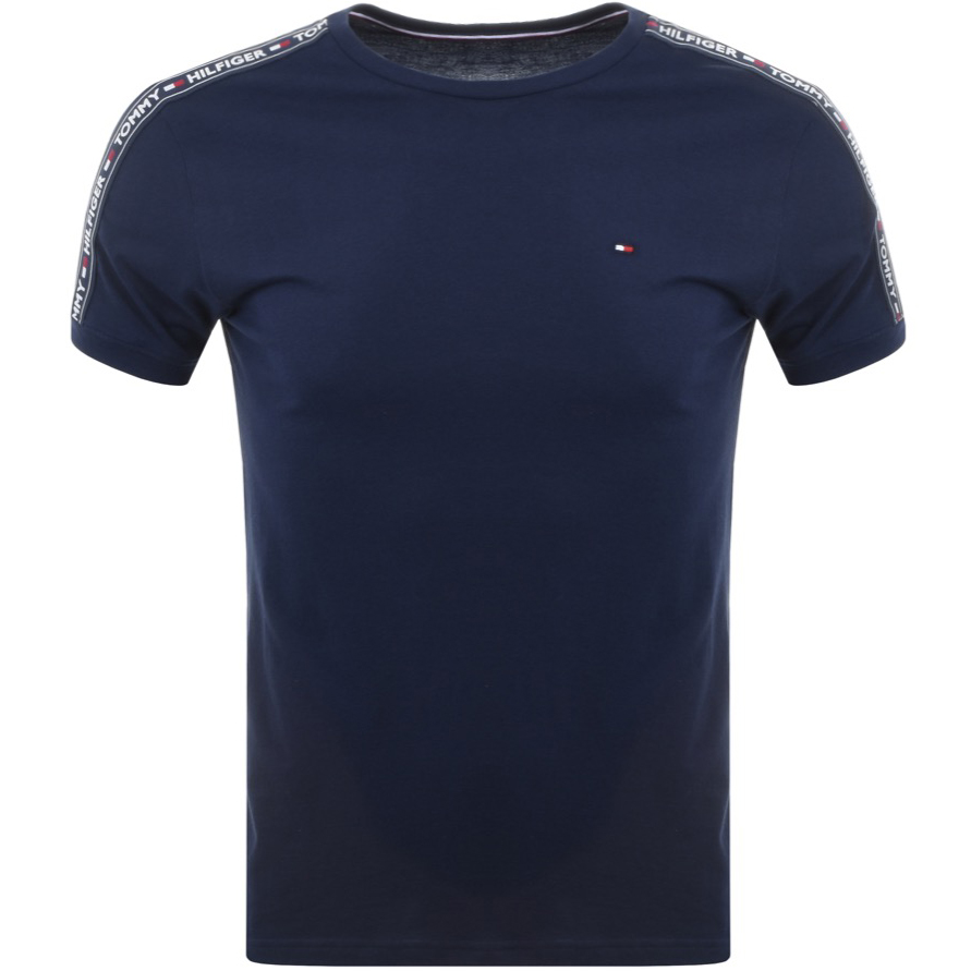Tommy Hilfiger Loungewear Round Neck T Shirt Navy