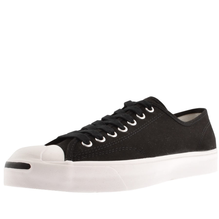 8a4d95fab930a8 Product Image for Converse X Jack Purcell Ox Trainers Black