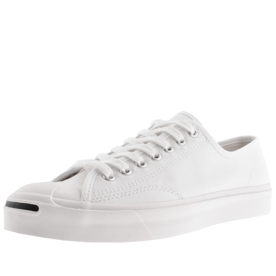 e6478acbb338f4 Product Image for Converse X Jack Purcell Ox Trainers White
