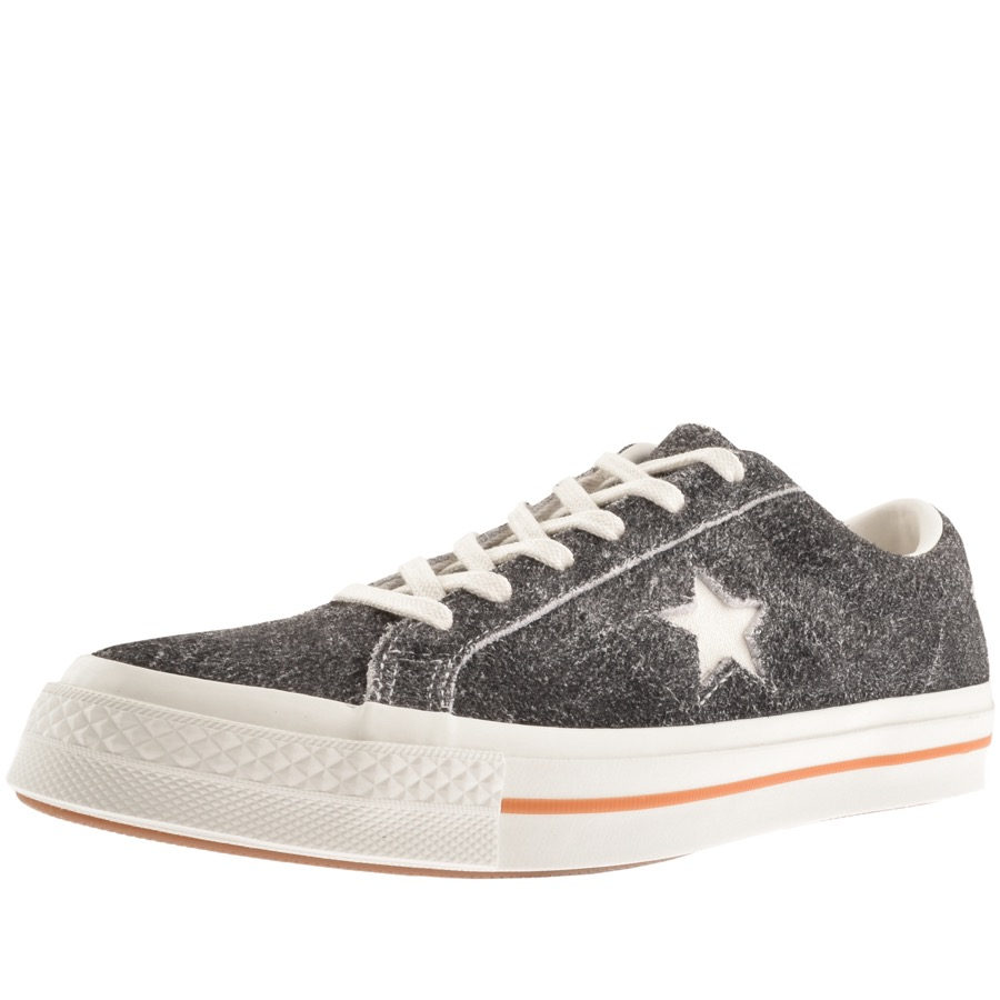 14e7fe7b0be0 Product Image for Converse One Star Suede Trainers Grey