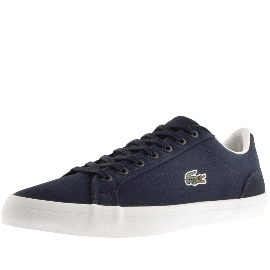 05c65a26f494 Product Image for Lacoste Lerond Trainers Navy