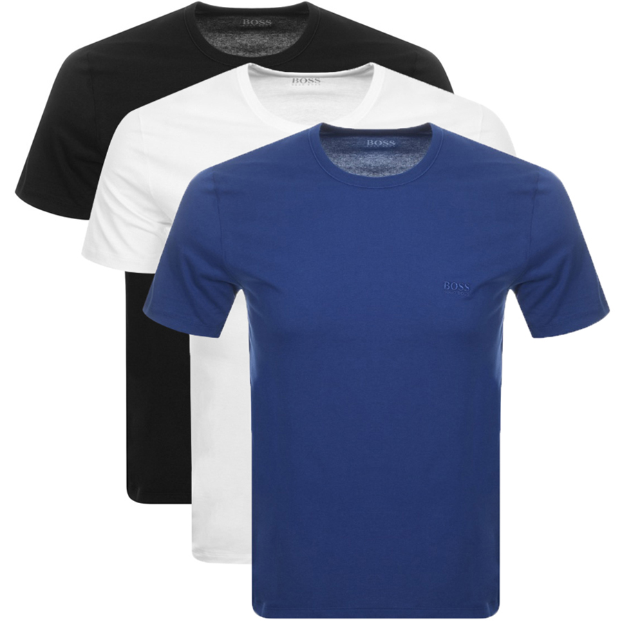eb7cf9f28 Product Image for BOSS HUGO BOSS Triple Pack Crew Neck T Shirts