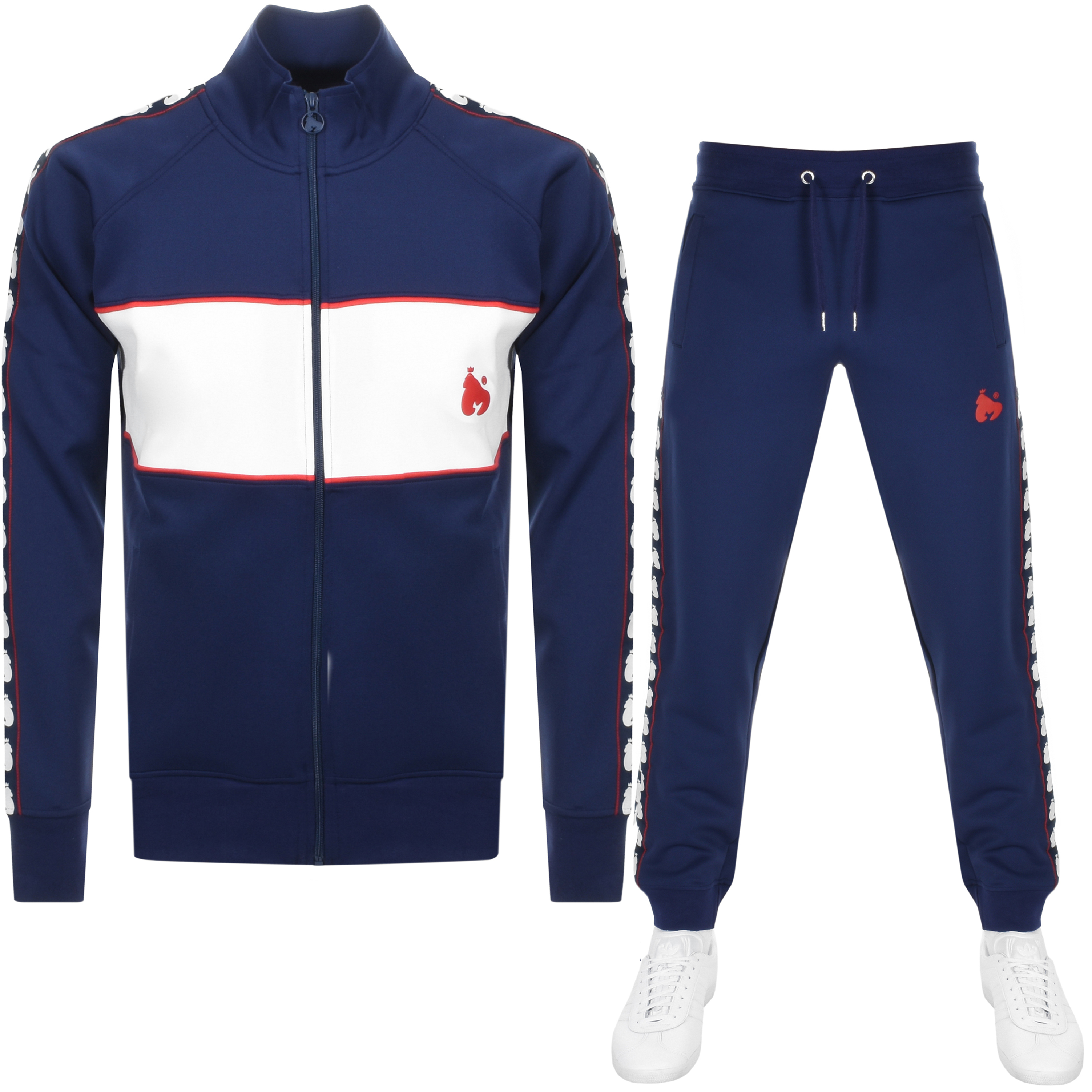 Main Product Image for Money Sig Ape Full Zip Tracksuit Navy
