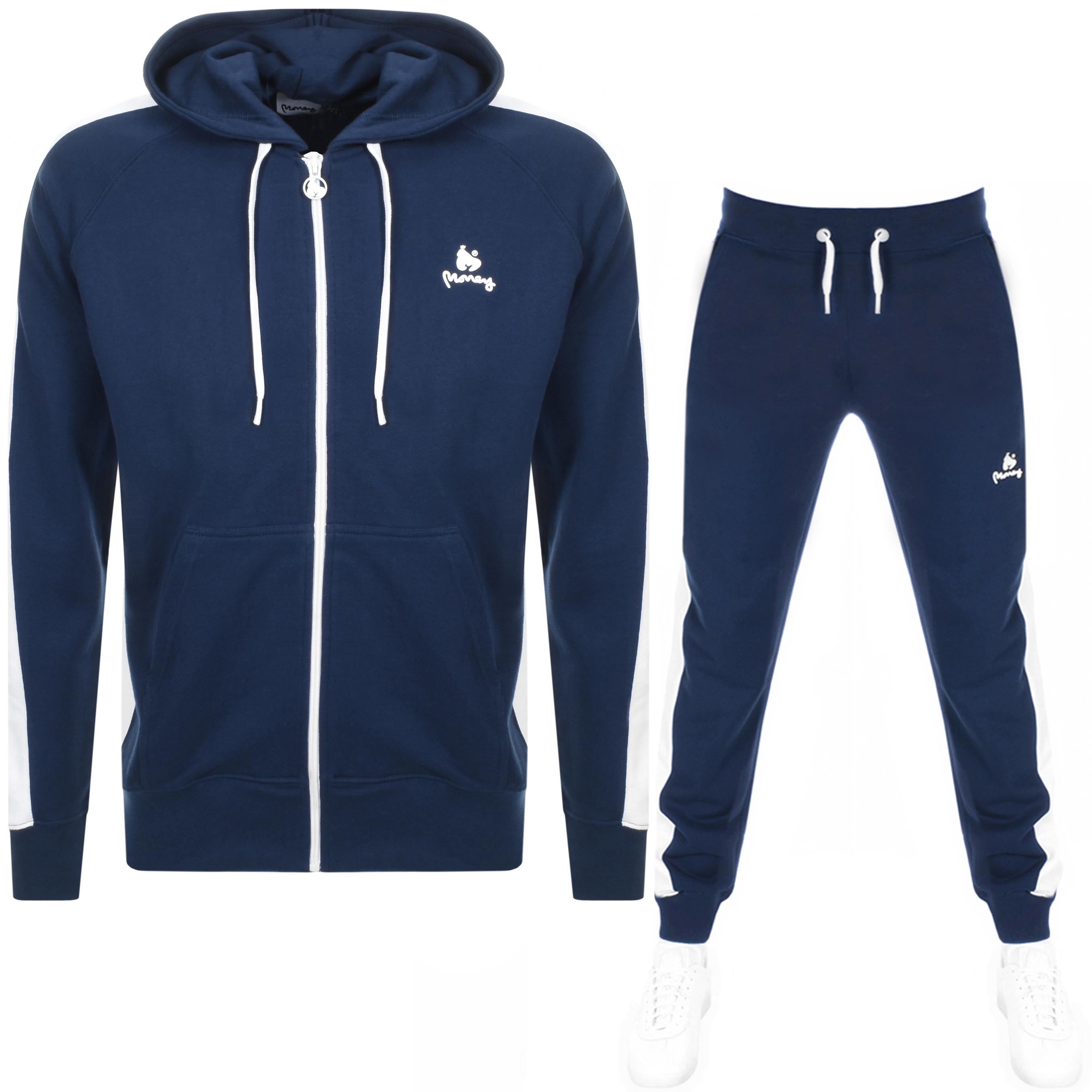 11e724e9a1dd Product Image for Money Classic Retro Hooded Tracksuit Navy
