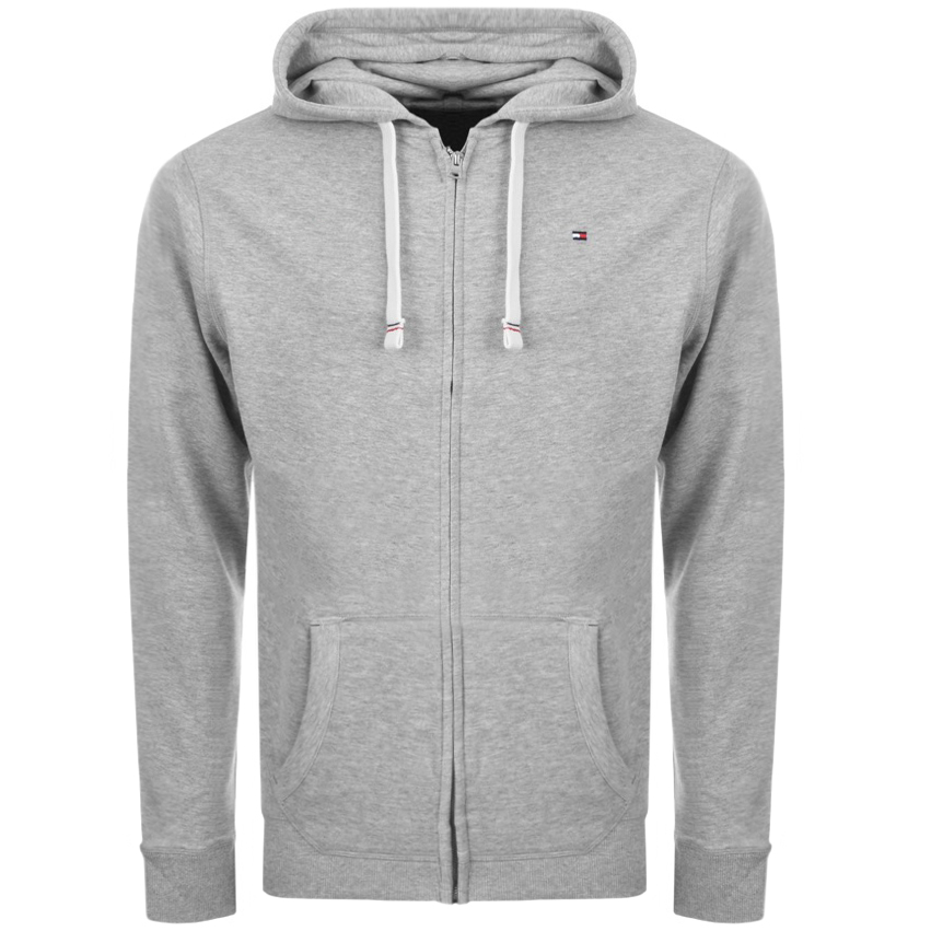 a7fa5ac9fd48 Product Image for Tommy Hilfiger Icon Zip Hoodie Grey