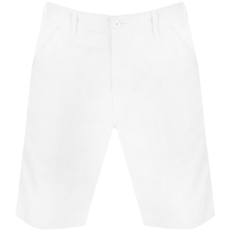Carhartt Chalk Shorts White