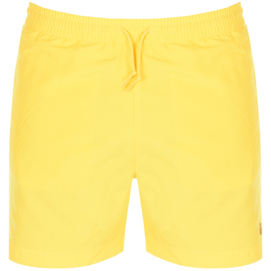 ba7a6e53a0ed5 Main Product Image for Carhartt Chase Swim Shorts Yellow
